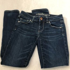 American Eagle Skinny Jeans stretch size 0 short